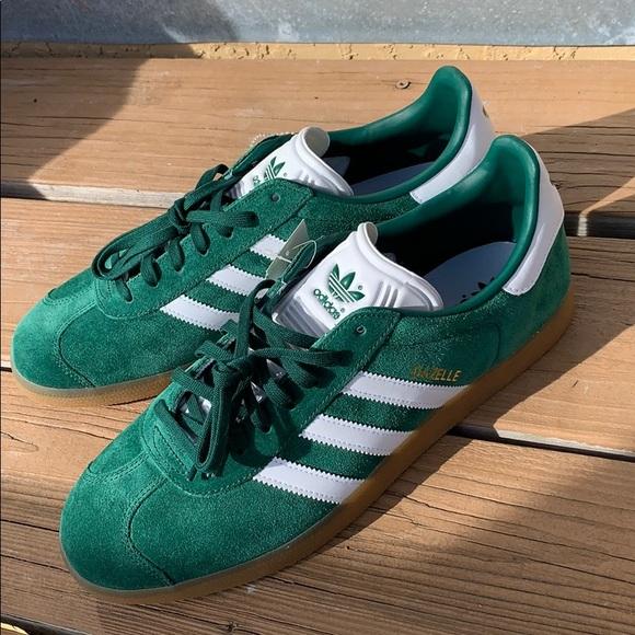 Adidas Gazelle Collegiate Green Gum - Size 11 mens